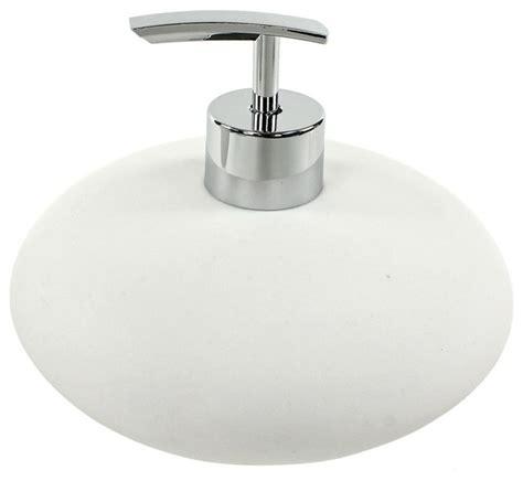 Modern Bathroom Soap Dispenser by And Resin White Soap Dispenser Contemporary