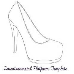 Shoe Template by Dawntroversial Your Heels