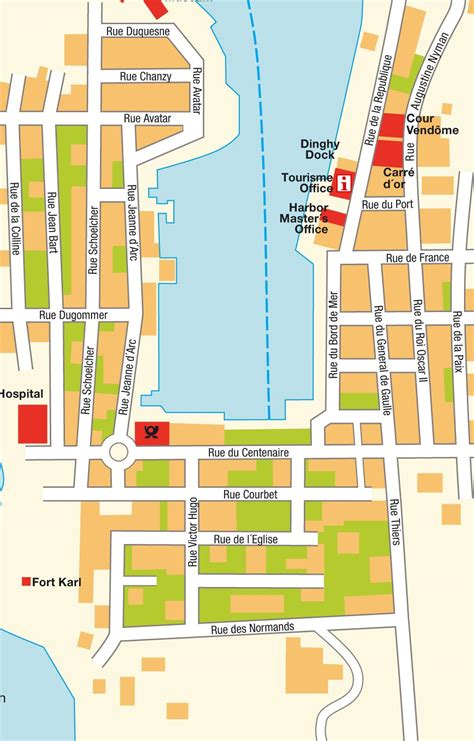 st barts map gustavia map mappery
