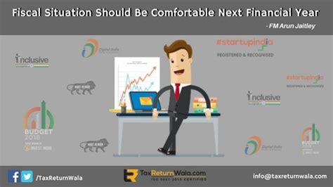 comfortable situation fiscal situation should be comfortable next financial year