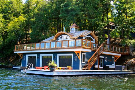 boat house boat dock ideas deck beach with dock flag houseboat jet