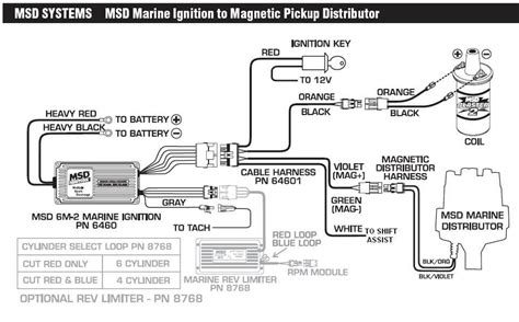 msd rev limiter wiring diagram