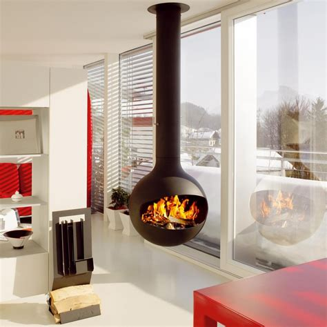 modern freestanding wood fireplace turn up the heat with modern fireplace updates