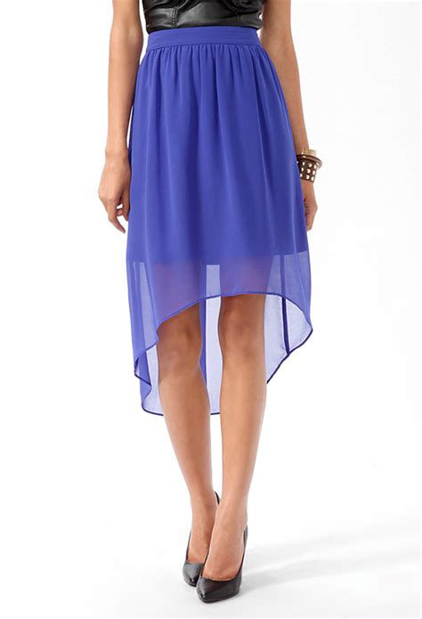 high low skirts forever 21 2014 2015 fashion trends 2016