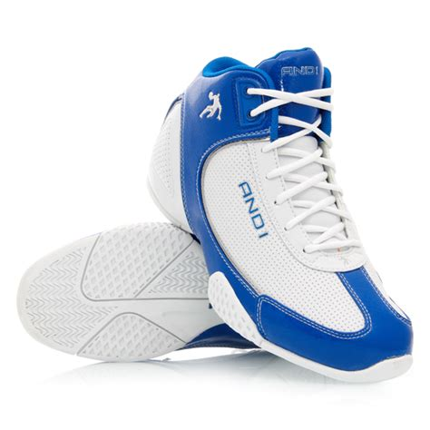 and1 boys basketball shoes and1 mucho gusto mid mens basketball shoes white royal