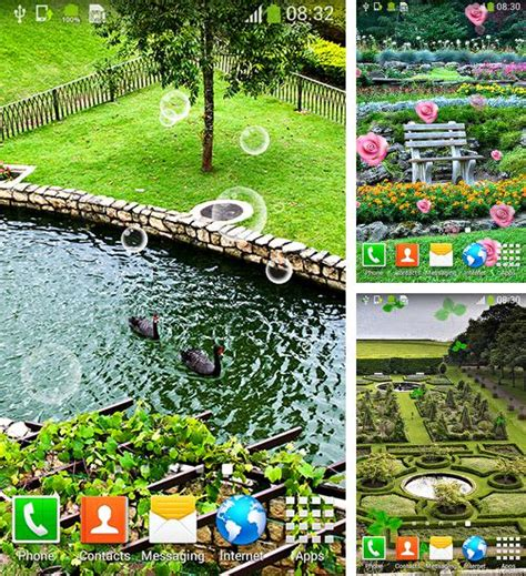 Open Garden Apk by Android Live Wallpapers Free Best Live