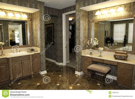 stylish bathroom ideas stylish bathroom decor stock image image 15625781