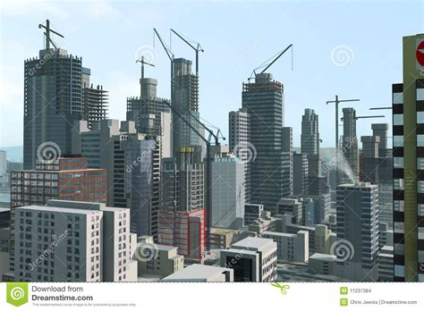 modern city  construction stock images image