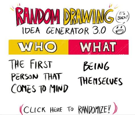 Drawing Idea Generator by 25 Melhores Ideias Sobre Random Drawing Generator No
