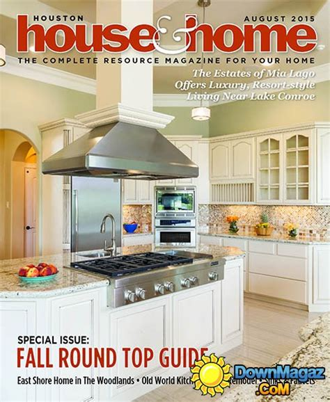 houston home design magazine houston house home usa august 2015 187 download pdf
