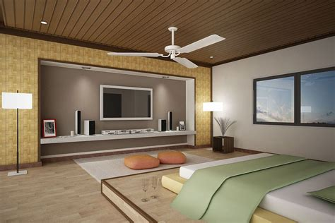 wooden bedroom ceiling idea feat cool long narrow tv