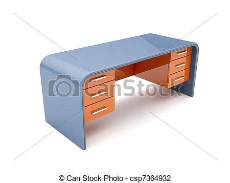 scrivania 3d clipart di scrivania minimalistic disegnato scrivania