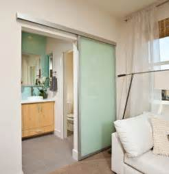Spa Bathroom Rugs - sliding passage door satin aluminum surface mounted top hung sliding door