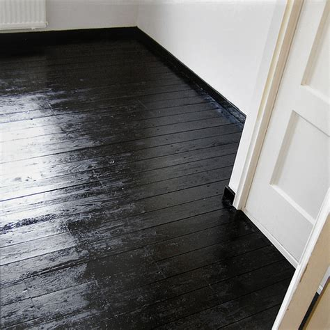 wood floor paint paper flower girl bedroom progress black floors