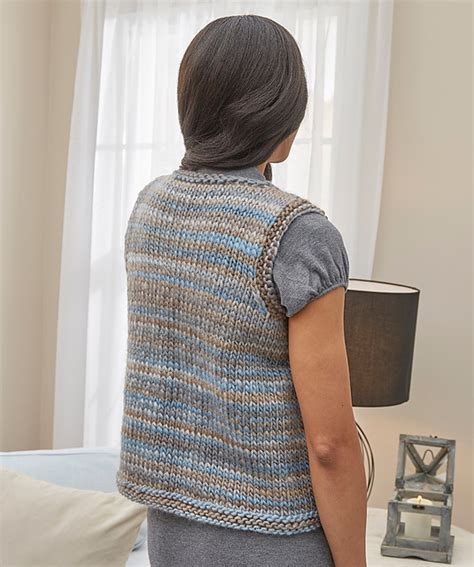 easy knit vest free patterns simply styled vest easy free knitting pattern knitting bee
