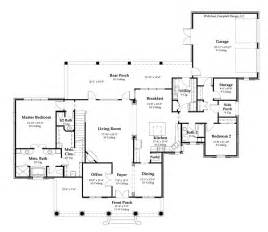 Acadian Floor Plans by Country House Plan Country House Plan