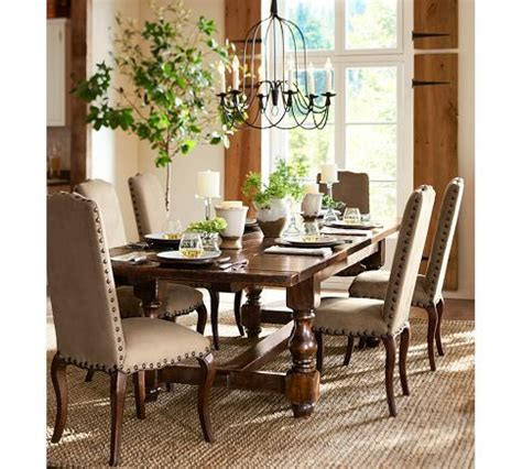 Pottery Barn Dining Room Lighting 517 Best Images About Potterybarn On Pinterest Mercury Glass Foyers And Hallways