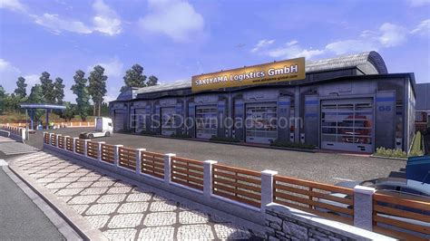 Custom Large Garage Ets 2 Mods Ets2downloads | custom large garage ets 2 mods ets2downloads