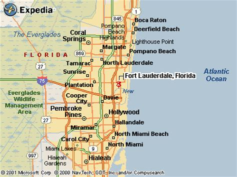 fort lauderdale map areas around fort lauderdale pictures to pin on pinsdaddy