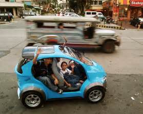 Electric Car Philippines pinoy made green cars learning and living the green life