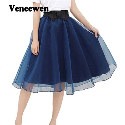 sale 2016 trend summer style skirts bust tulle skirt