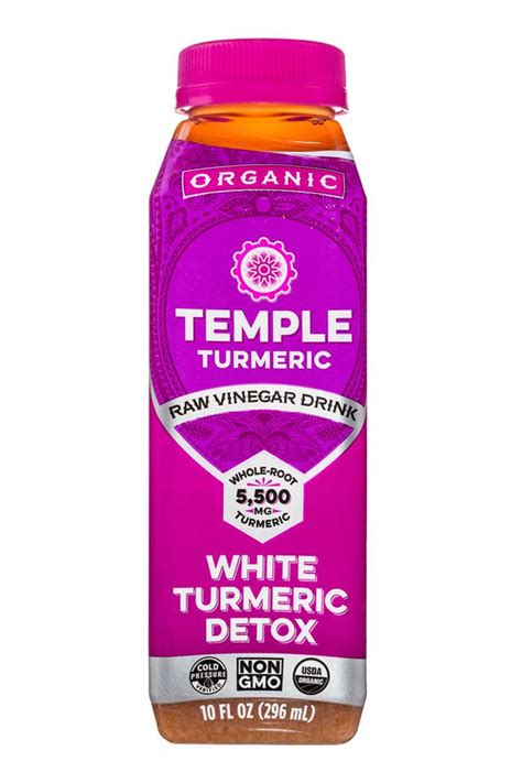 And White Temple Detox by White Turmeric Detox Temple Turmeric Vinegar Drink