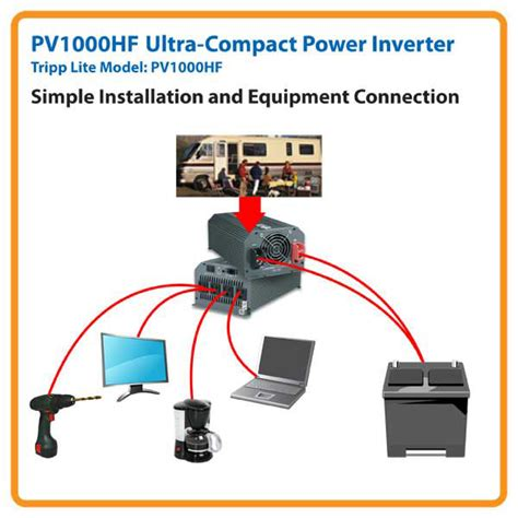 tripp lite pv1000hf powerverter ultra compact