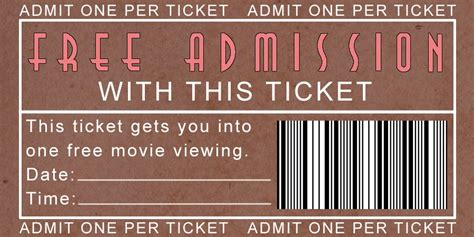 printable movie night tickets family strong free printable movie night tickets