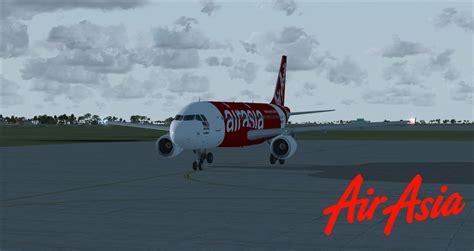 airasia airbus airasia malaysia airbus a320 for fsx