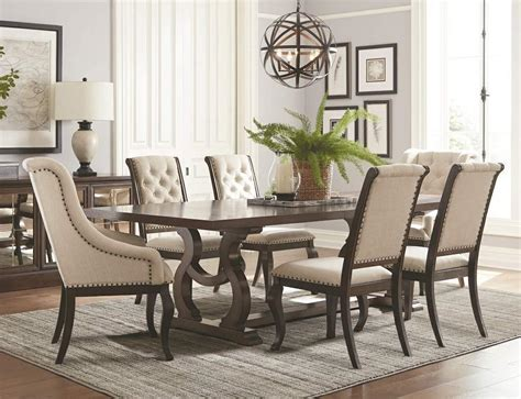 Dining Room Table With Upholstered Chairs Dining Room Design