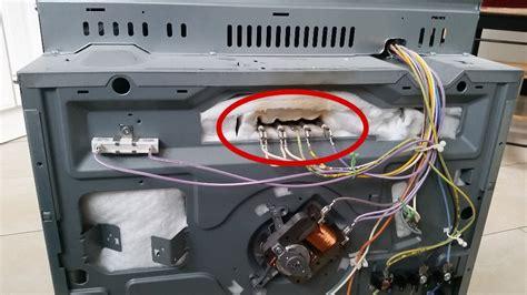 Siemens Backofen Heizspirale by Backofen Oberhitze Reparieren Bastel Reparatur