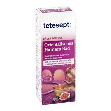 orientalisches bad tetesept orientalisches hamam bad 125 ml ihre g 252 nstige