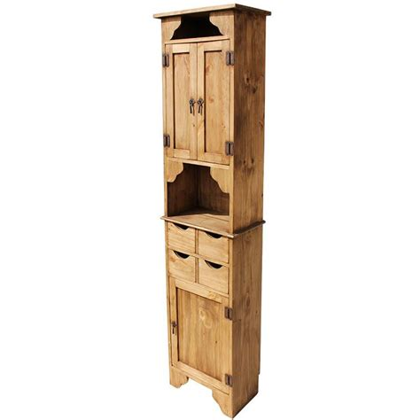 Kitchen Shelf Unit by Rustic Pine Collection Kitchen Storage Unit Acc21