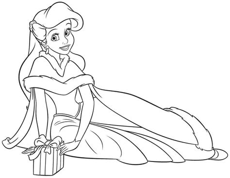 disney princesses coloring pages ariel coloring home