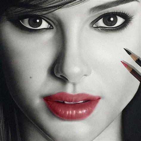 imagenes realistas famosas cuadros modernos pinturas y dibujos rostros dibujos de