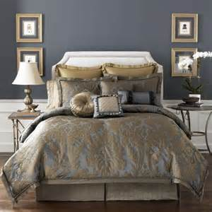 Bronze Comforter by Croscill Sapphire Bedding Collection Gorgeous Sapphire