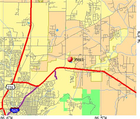zip code map huntsville al 35811 zip code huntsville alabama profile homes