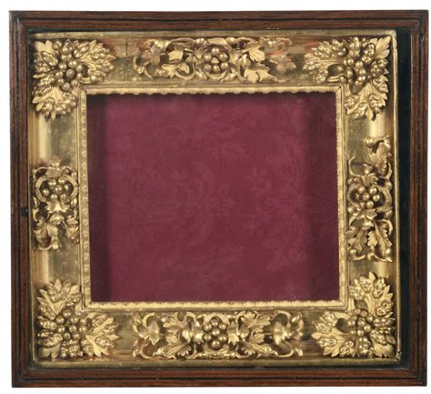 cornici per ste antiche cornice in teca in legno dorato e scolpito a motivi di