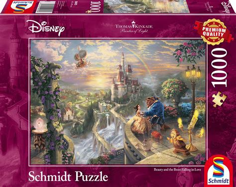 1000 images about beauty and the beast set design on puzzle thomas kinkade disney beauty and the beast