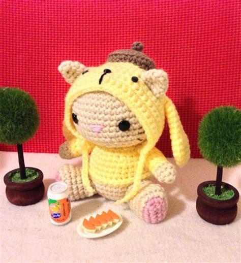 Amigurumi Pom Pom Purin by Pom Pom Purin Hoodie Pdf Amigurumi Crochet Pattern