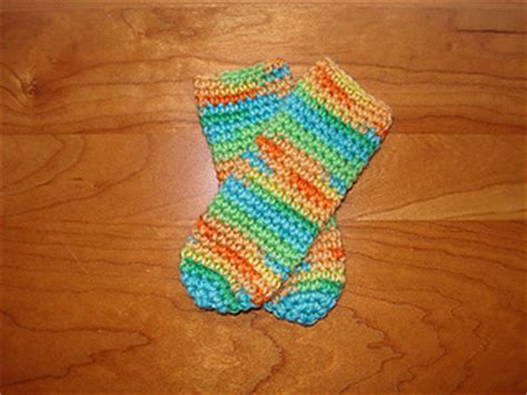 crochet pattern tube socks ravelry bev s crocheted baby tube socks pattern by