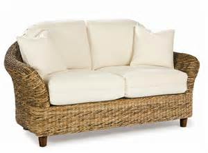 Outdoor Loveseat Cushions Seagrass Loveseat Tangiers