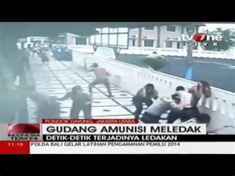 Cctv Gudang cctv detik detik meledaknya gudang amunisi tni al
