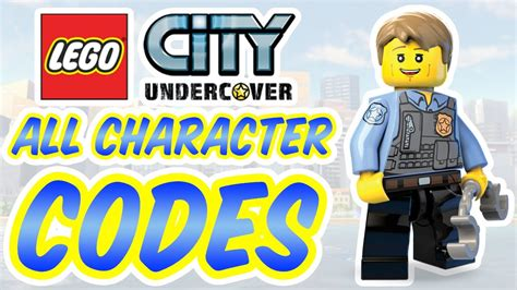Promo Switch Lego City Undercover lego city undercover all character codes