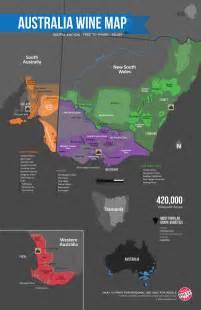 australia s wine region map wine folly