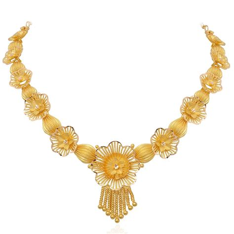 Gold Necklace necklace the poppy flower gold necklace grt jewellers