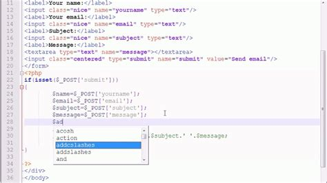 html tutorial embed video how to insert embed video to html document youtube