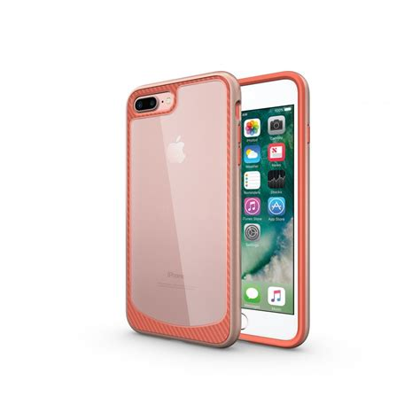wholesale iphone   clear armor hybrid case rose gold