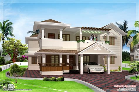 two home designs 3200 sq two floor house design kerala home design