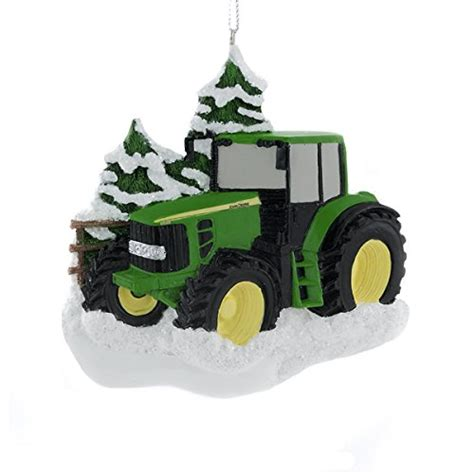john deere christmas ornament collectibles